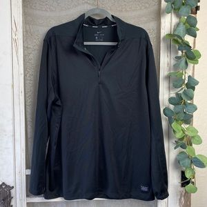 Nike Men's Golf Dri- Fit Black Pullover Top Sz. XL
